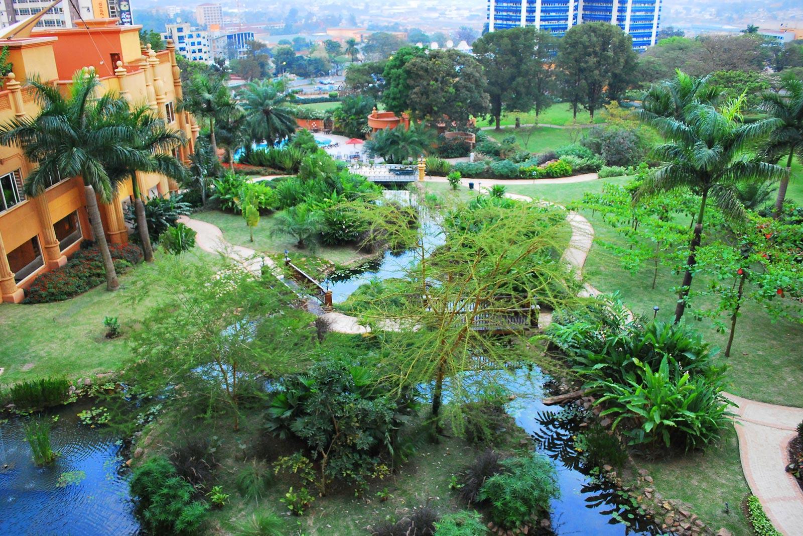 Day 1 — Arrive at Entebbe — Serena Lake Victoria Hotel