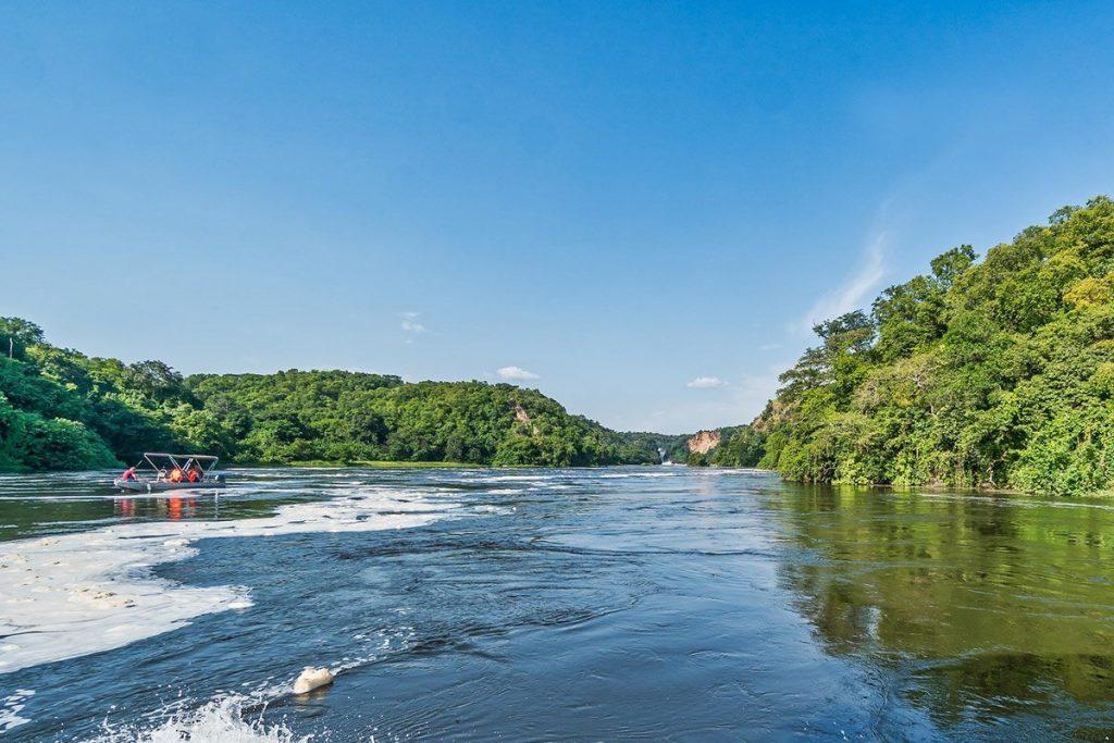 Boat launch safari in Murchison Falls uganda