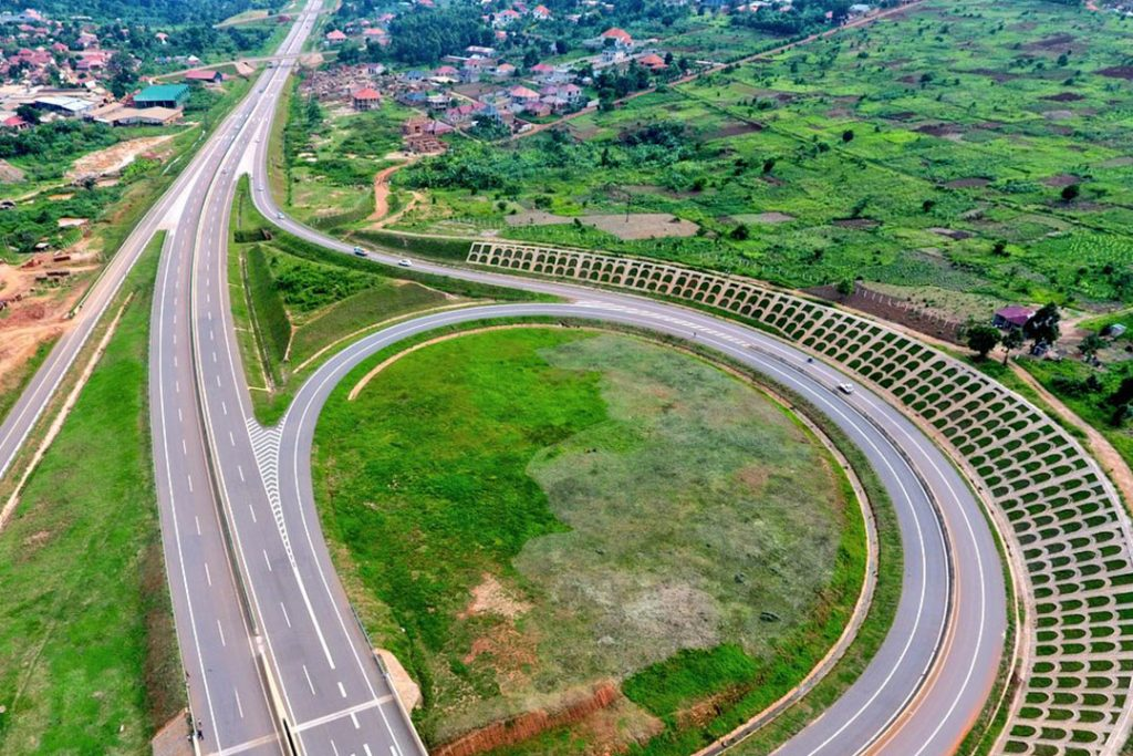 How to get to entebbe via express highway