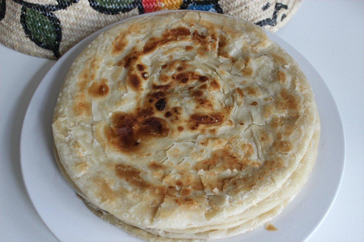 Chapati Uganda snack