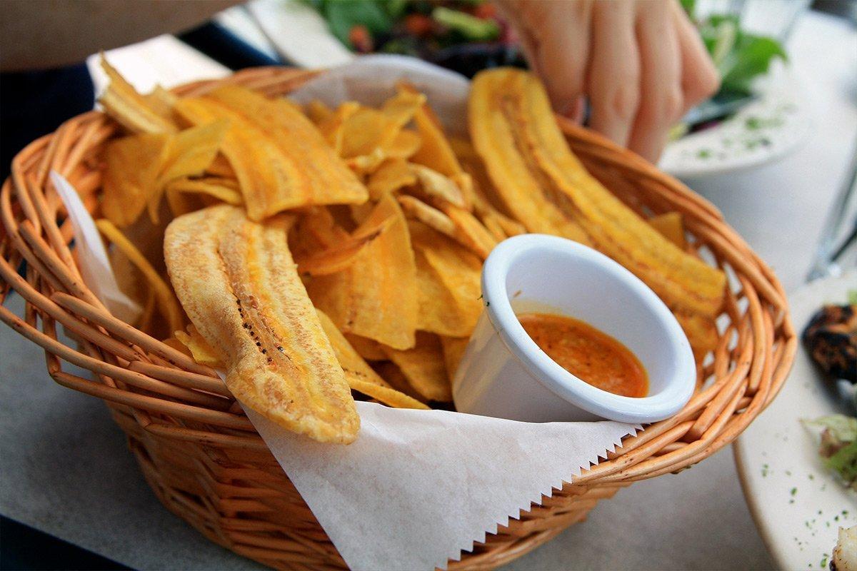 Plantain Chips - Uganda travel snack