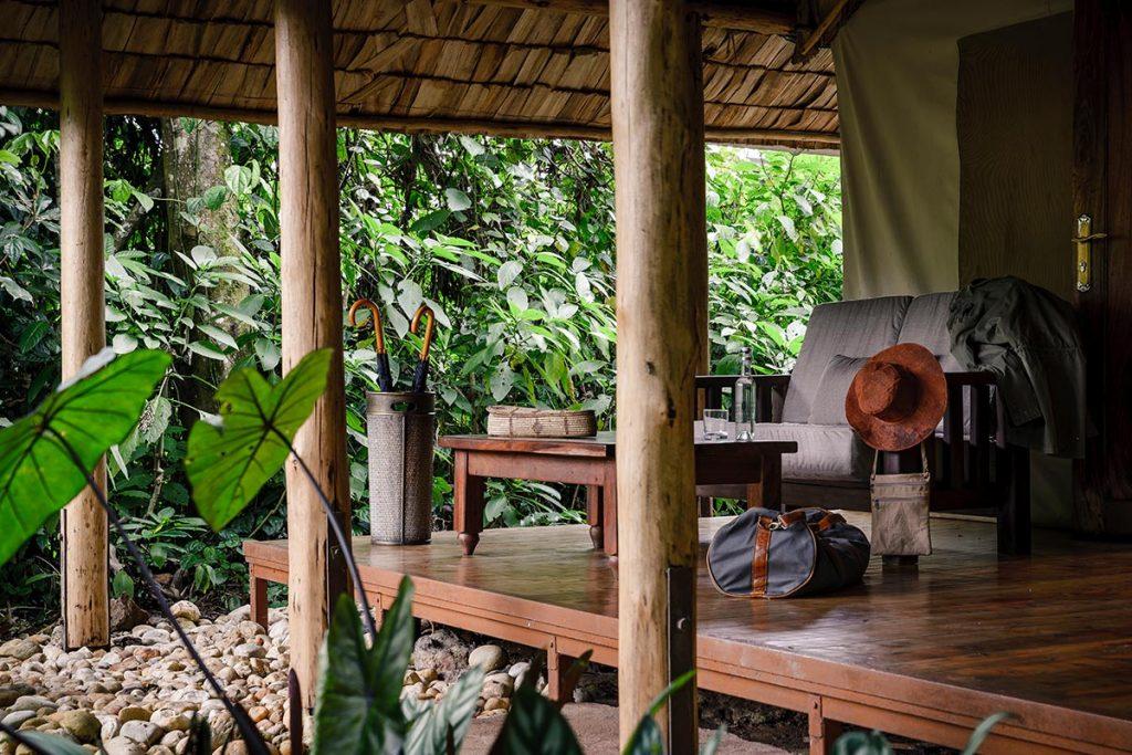 Top Luxury Lodges in Bwindi Impenetrable Forest - sanctuary retreat bwindi luxury lodge