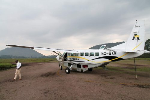 Domestic flights in Uganda