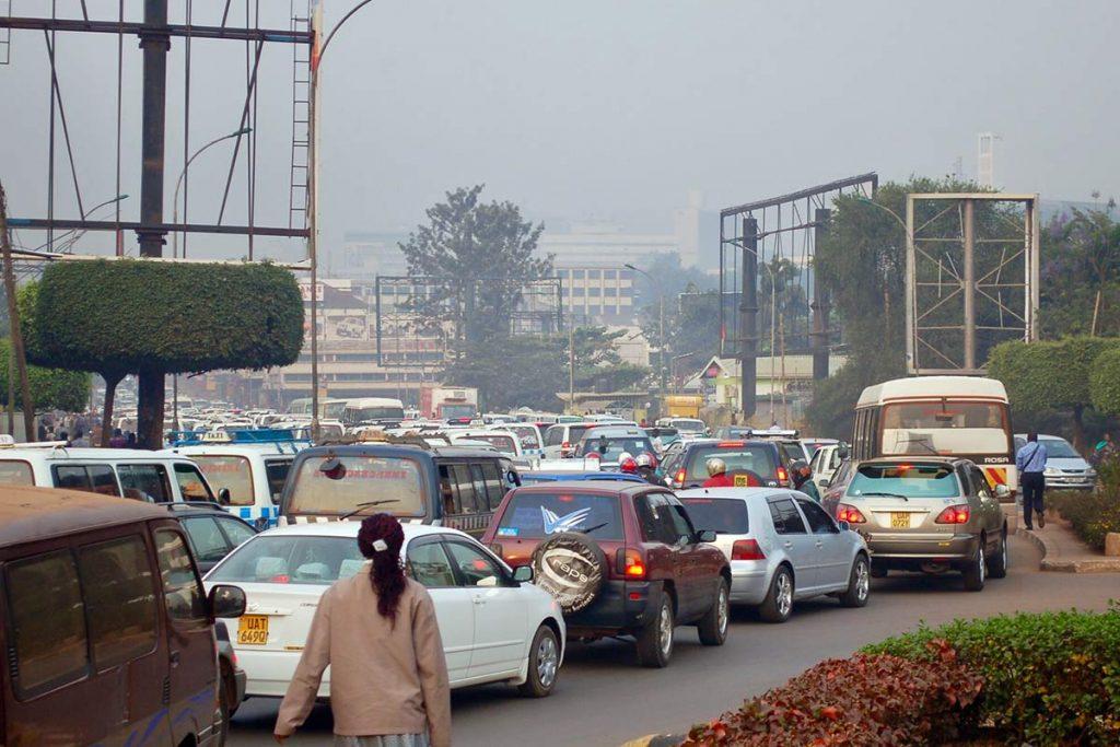 self driving in Kampala traffic: Uganda Travel advisory