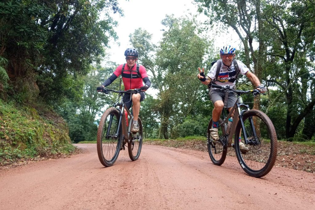 Mountain Biking in Uganda