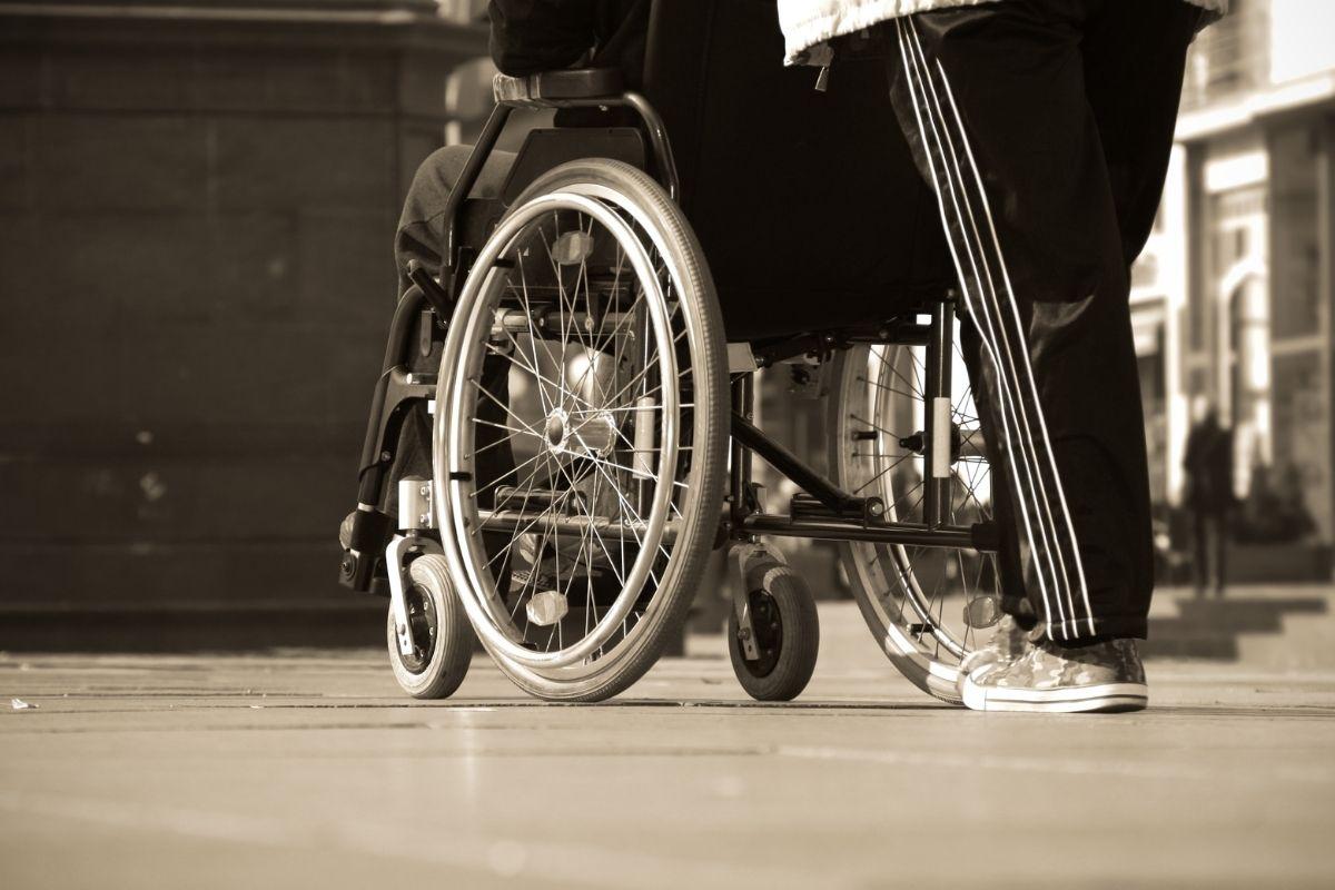 Disabled Traveler in Uganda