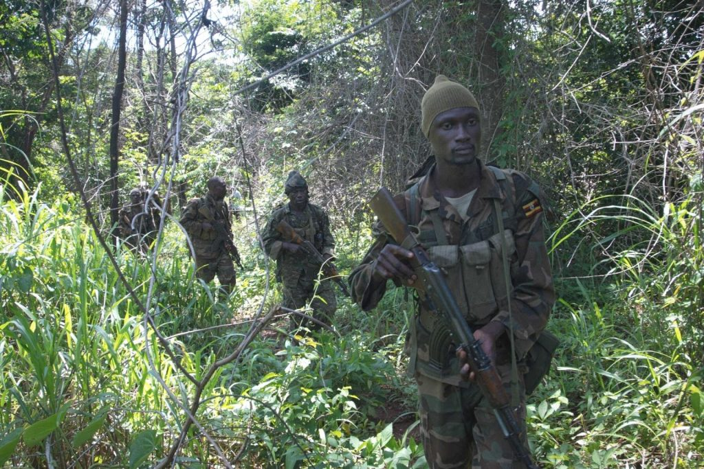 Uganda Travel advisory: Intense Boarder Security—Defense Forces Patrolling South Western Boarder to keep out intruders and protect tourists | Photo APF