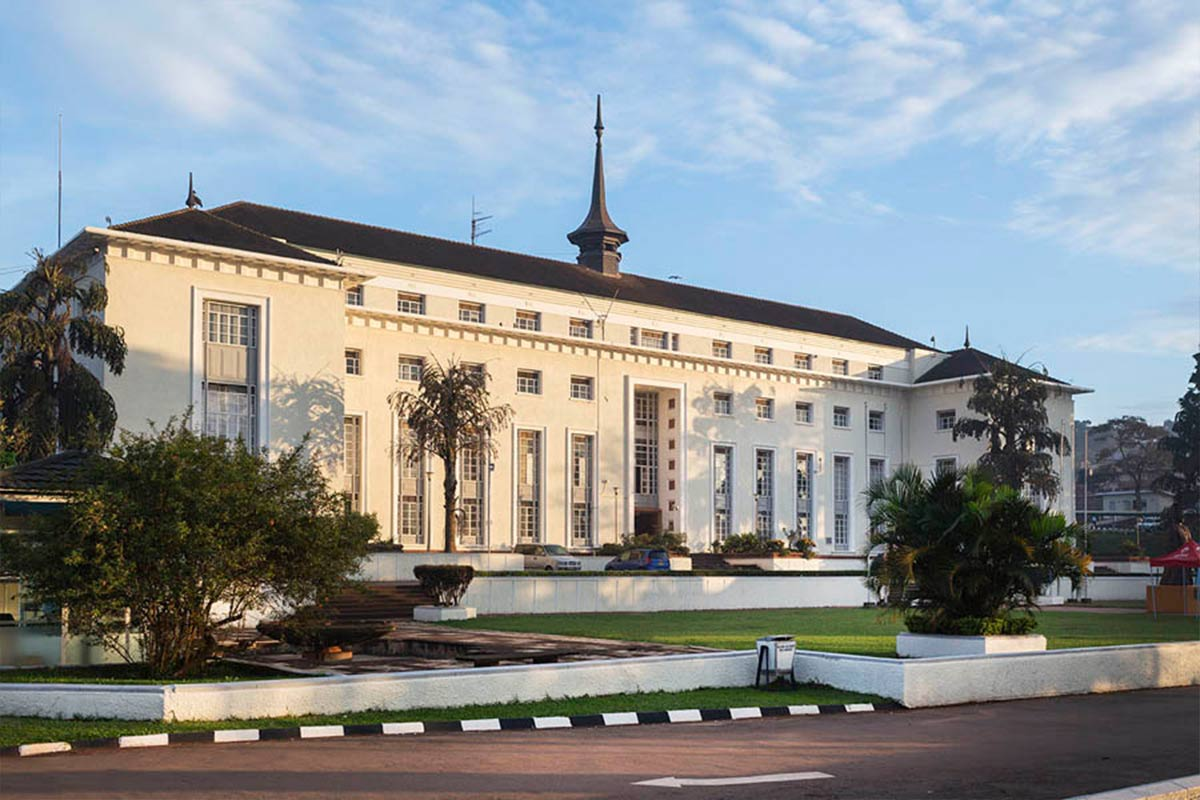 Bulange Building on Mengo Hill, the traditional seat of Bulange Parliament: Explore Kampala Uganda's Capital City