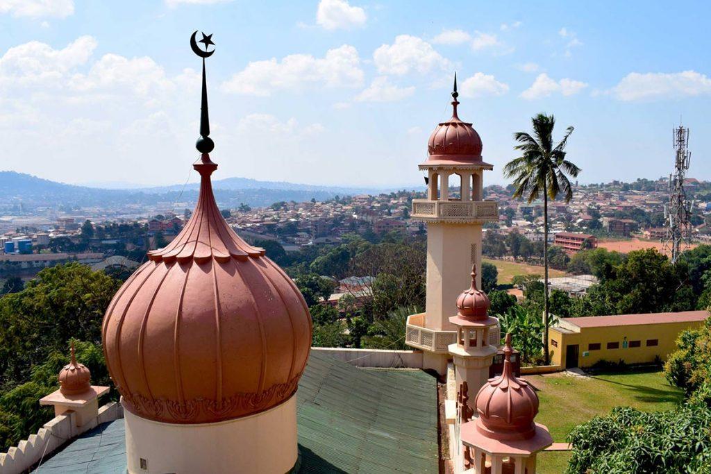 Spiritual tourism in Uganda, A view of Kampala city from Kibuli Mosque