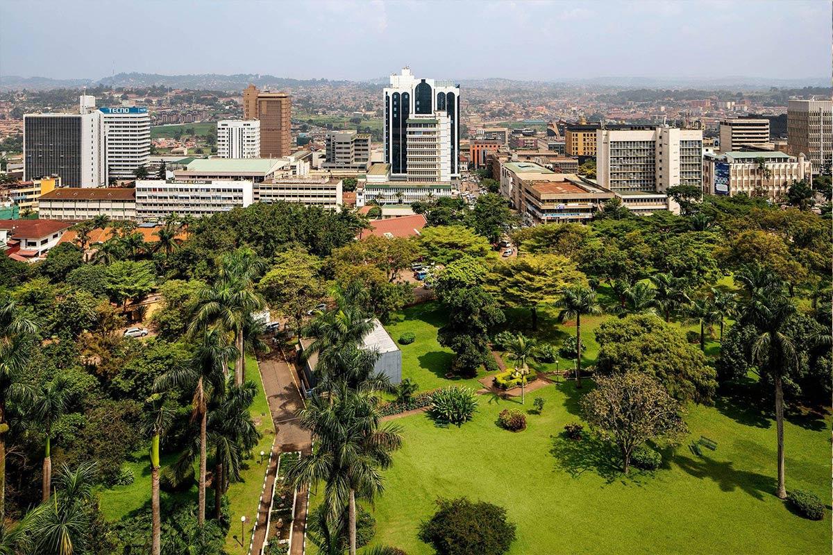 Kololo Hill View of Kampala City