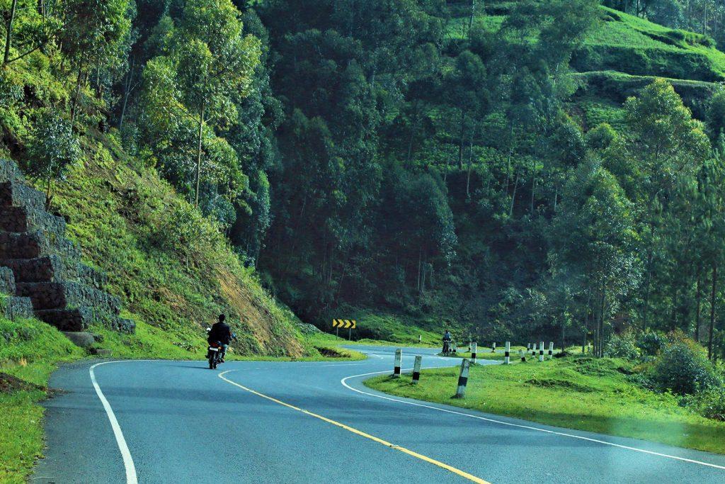 Kabel Winding Road to Bwindi; my uganda safari experience