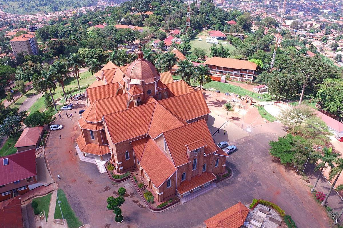 Gracing the skies at Namirembe hill is St. Paul's Cathedral: Exploring Kampala City