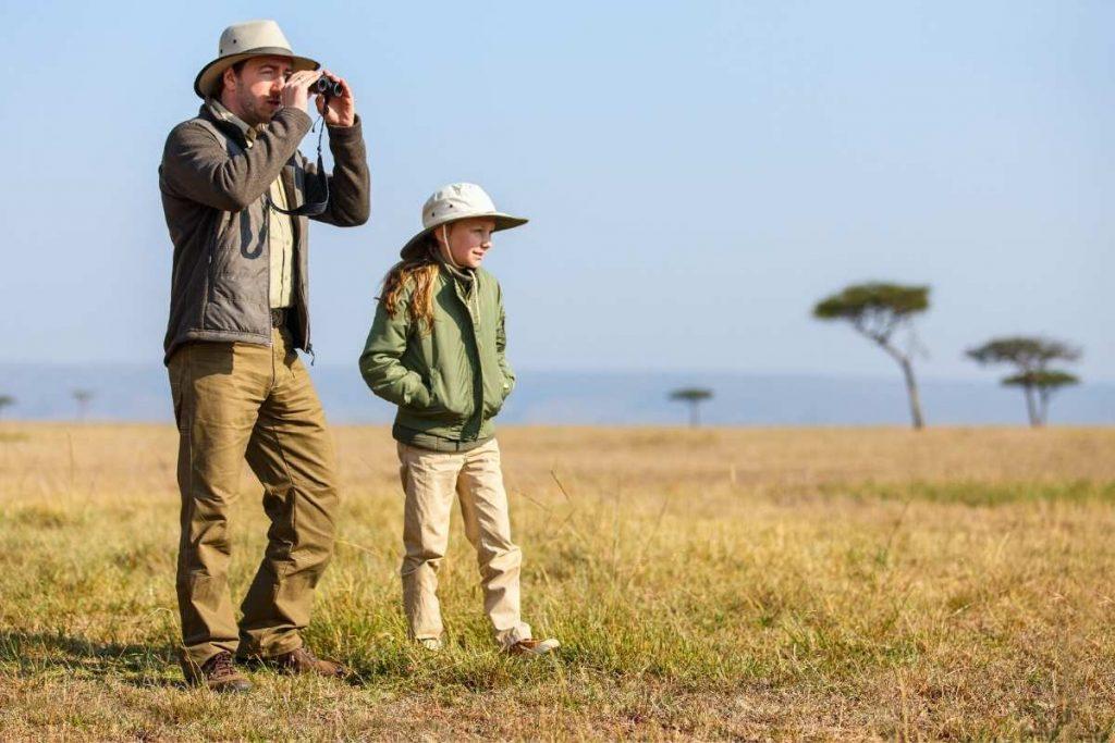 A safari holiday