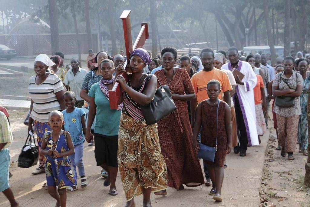 Annual Uganda Martyrs Pilgrimages, a top spiritual tourism attraction in Uganda.